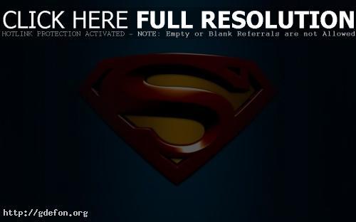 Обои Знак Супермена фото картики заставки