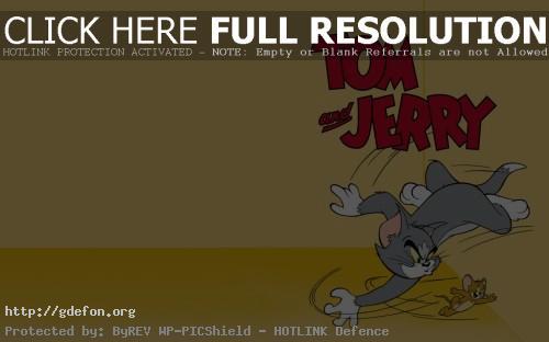 Обои Том и Джерри фото картики заставки