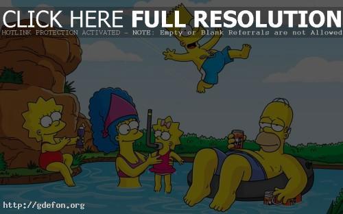 Обои Simpsons фото картики заставки