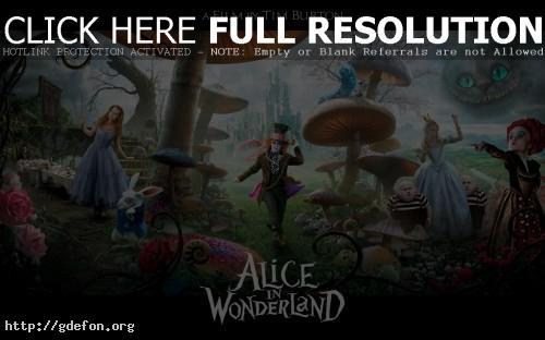 Обои Алиса в стране чудес фото картики заставки