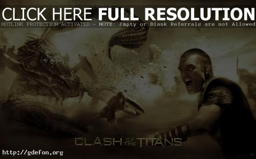 Обои Битва титанов фото картики заставки