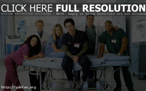 Обои Scrubs, клиника, сериал фото картики заставки