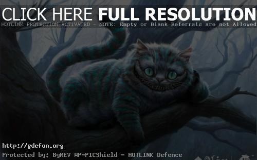 Обои Чеширский кот фото картики заставки