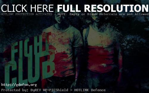 Обои Fight Club, Бойцовский Клуб, Брэд Питт фото картики заставки
