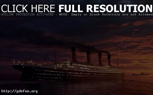 Обои Титаник фото картики заставки