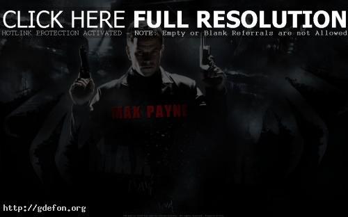 Обои Max Payne фото картики заставки