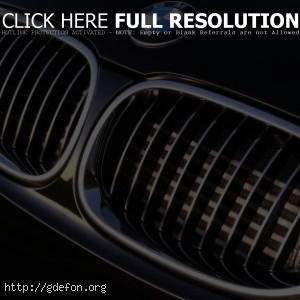 BMW M5 решетка