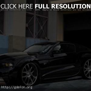 Тюннингованный Ford Shelby