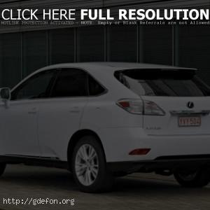 Lexus RX 450 белый