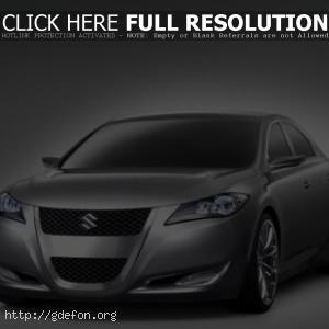 Suzuki Kizashi 3 Concept сбоку