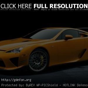 Экстремальная версия Lexus LFA