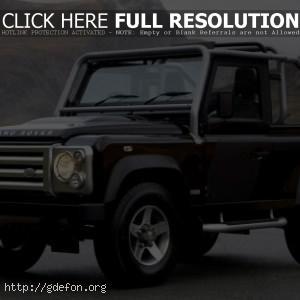 Land Rover внедорожник