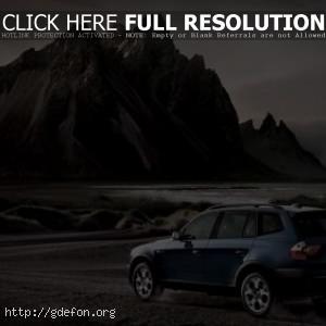 BMW и горы