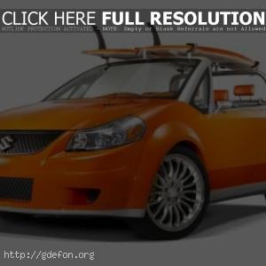 Suzuki Makai Concept оранжевая