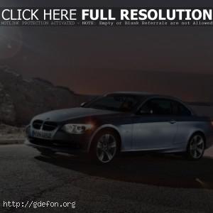 BMW 3 series в лучах