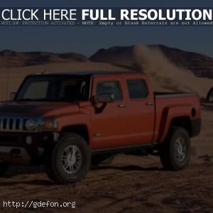 Hummer H3 в пустыне