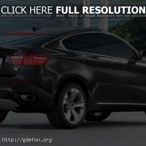 BMW X6 Concept, вид сбоку