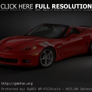 Chevrolet Corvette Grand Sport красный