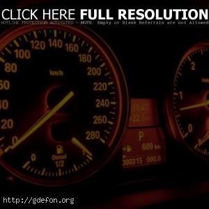 BMW спидометр