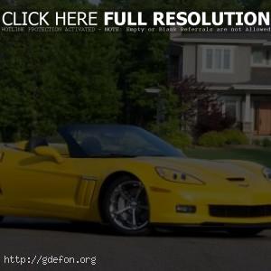 Chevrolet Corvette Grand Sport жёлтый
