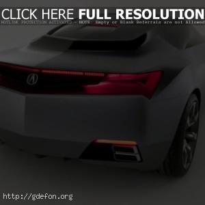 Acura Adcd SportsCar