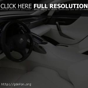 Интерьер Lexus LFA