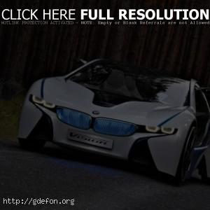 BMW ED vision, вид спереди