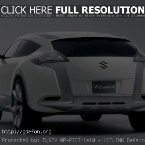 Suzuki Kizashi 2 Concept сзади