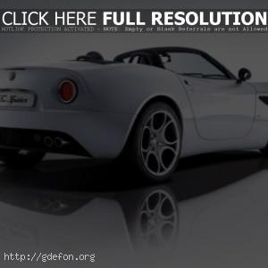 Alfa Romeo 8c Spider кабриолет