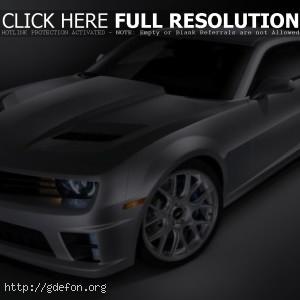 Chevrolet Camaro серый