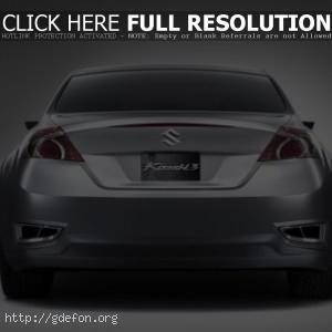 Suzuki Kizashi 3 Concept серебристая