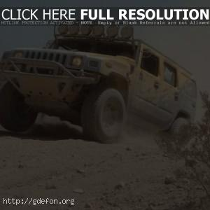 Hummer H2, гонки
