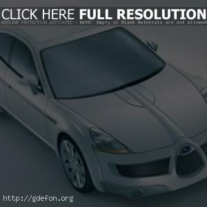 Subaru B11S Concept Fuore F сверху