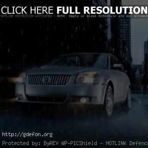 Mercury под дождём