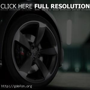Audi RS5 колесо