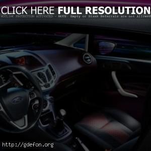 Интерьер Ford Fiesta