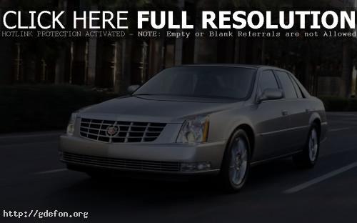 Обои Cadillac DTS фото картики заставки