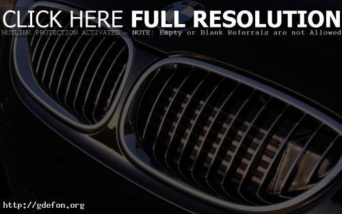 Обои BMW M5 решетка фото картики заставки