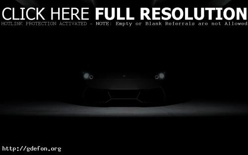 Обои Lamborghini Murcielago во тьме фото картики заставки