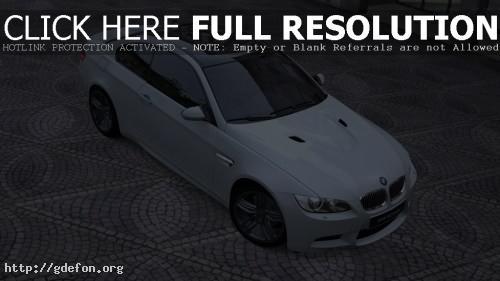 Обои Белый BMW M3 Coupe фото картики заставки