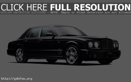 Обои Bentley arnage final фото картики заставки