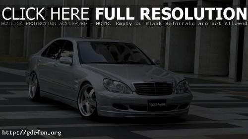Обои Wald Mercedes Benz S73 фото картики заставки