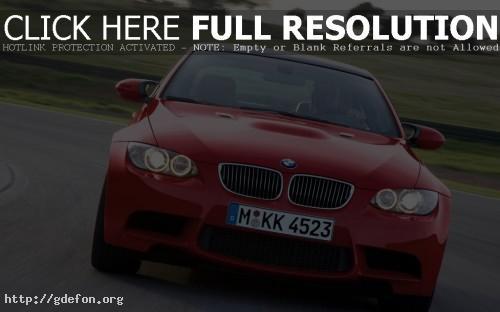 Обои BMW M3 фото картики заставки
