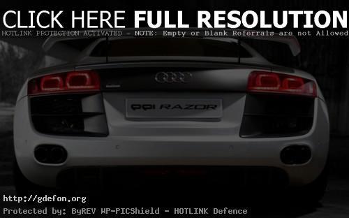 Обои Audi R8 PPI Razor фото картики заставки