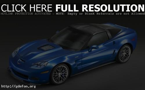 Обои Chevrolet Corvette ZR1 фото картики заставки