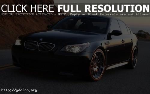 Обои BMW M5 turbo фото картики заставки