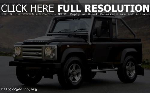 Обои Land Rover внедорожник фото картики заставки