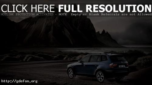 Обои BMW и горы фото картики заставки