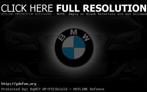Обои BMW логотип фото картики заставки