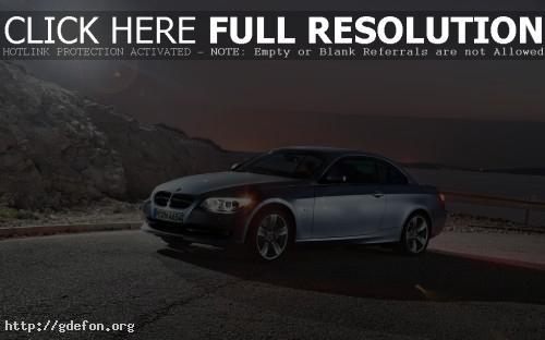 Обои BMW 3 series в лучах фото картики заставки
